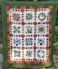 Crazy Quilters of Cape Cod Raffle Quilt