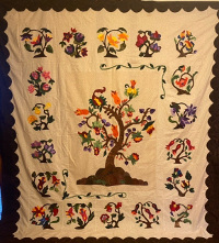 Bayberry Raffle Quilt